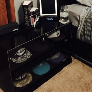 Piano Black CapPalace nightstand